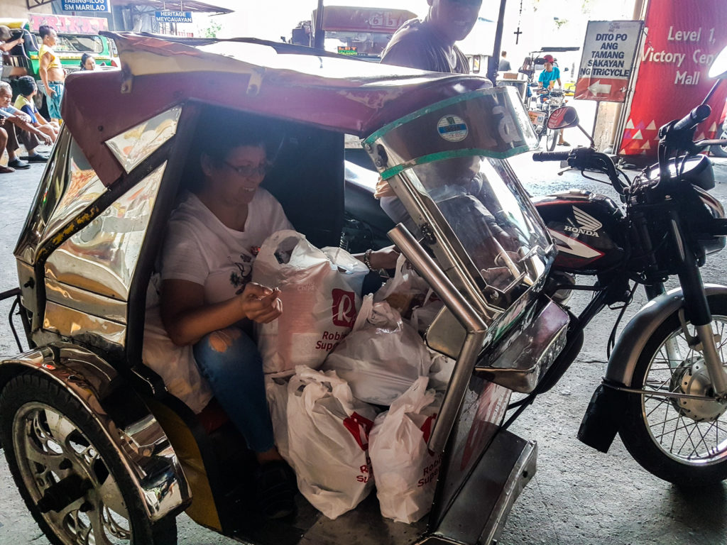 Bring Home Groceries in a Tricycle