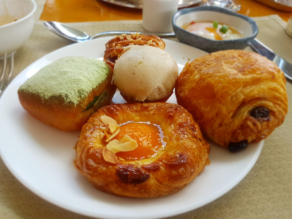 Breakfast at Intercontinental Hong Kong
