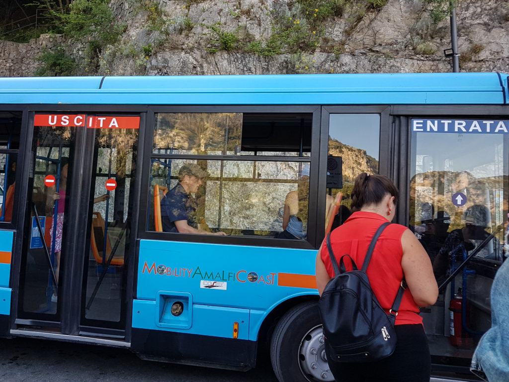 The Nocelle - Positano bus