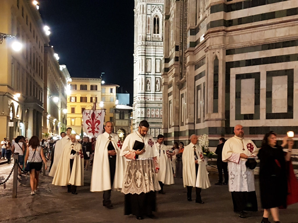Procession at the Duomo