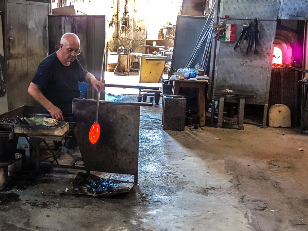 Murano Glass Blowing