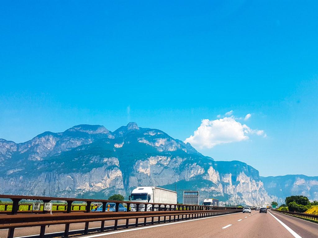 Autostrada to Bolzano