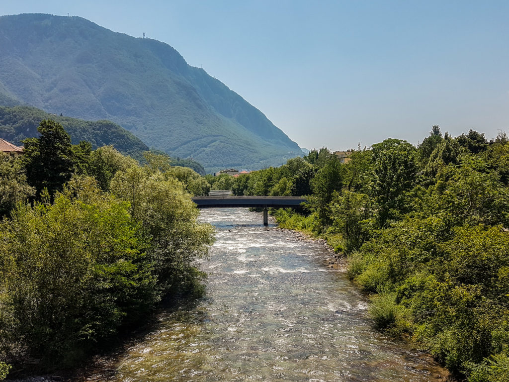 River at Bolzano