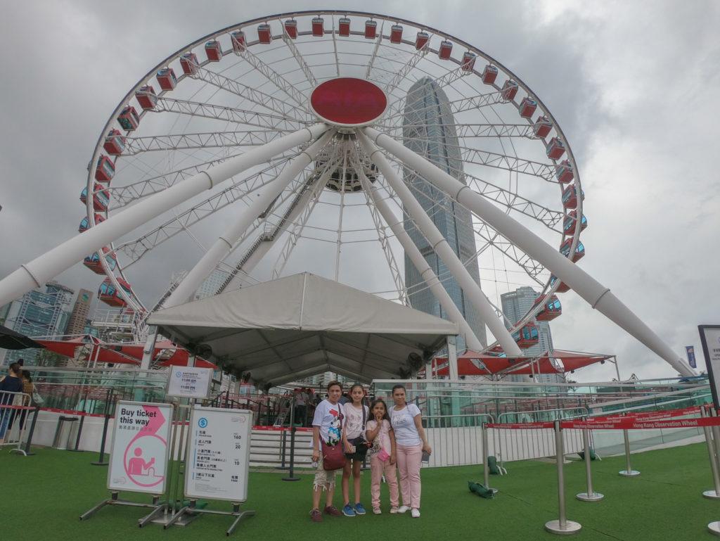 Hong Kong Ferris Wheel