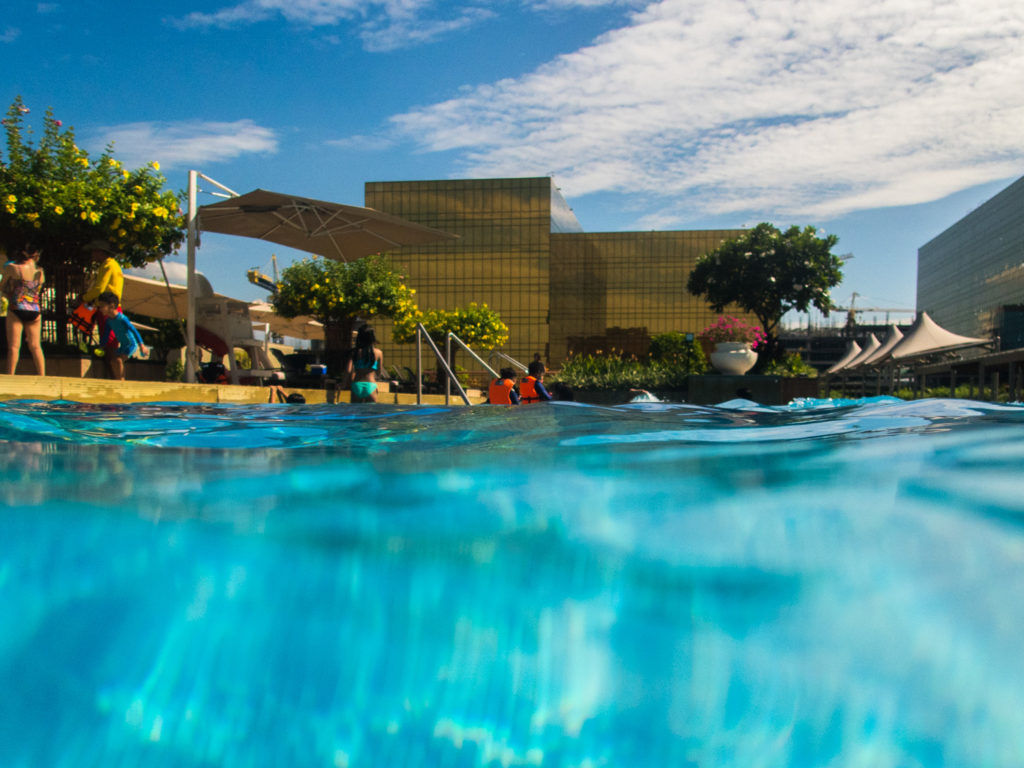 Pool at Nobu