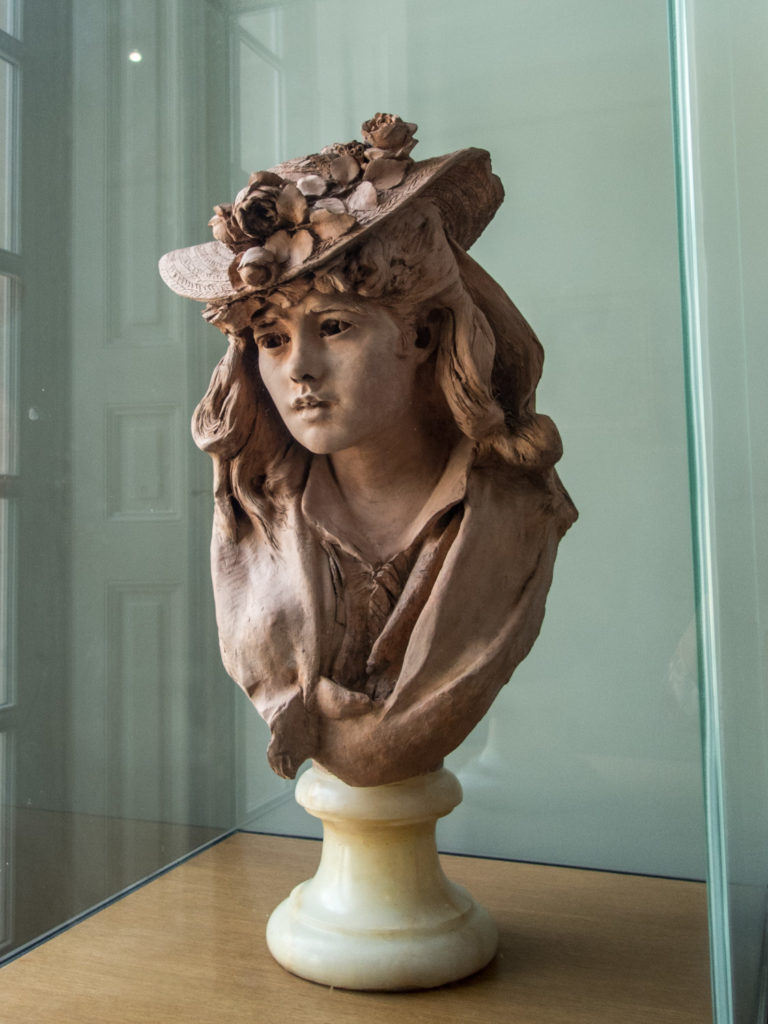 Rodin - Jeune Femme Au Chapeau Fleuri (Young Girl With Flowers on Her Hat)