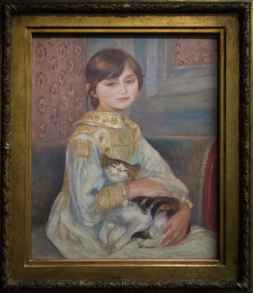 Renoir - Child with Cat (Julie Manet)