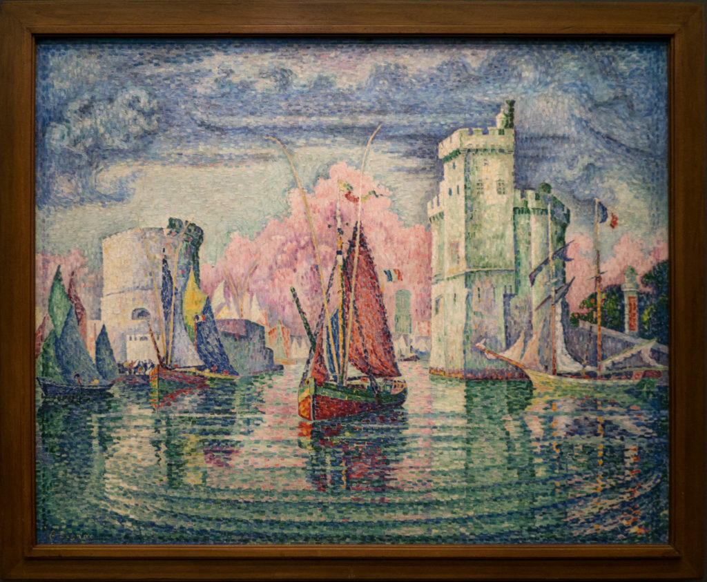 Paul Signac - Entrée du port de la Rochelle (The entrance to the port of La Rochelle)