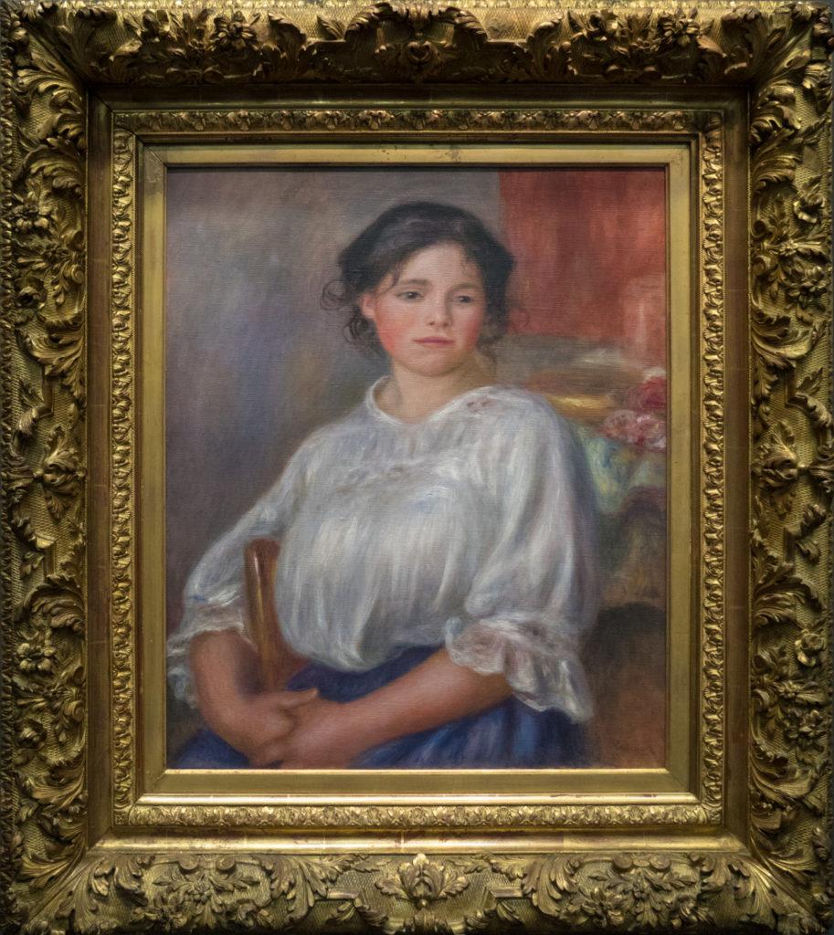 Renoir - Jeune fille/Helene Bellon