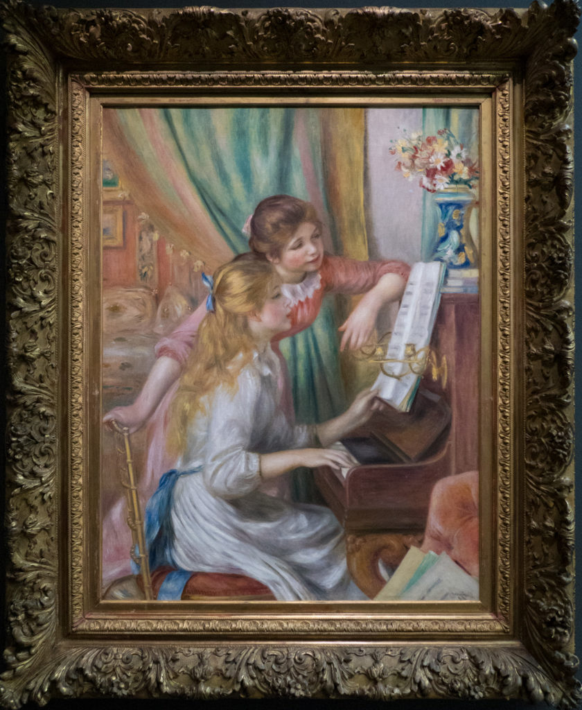 Renoir - Jeunes filles au piano (Young Girls at the Piano)