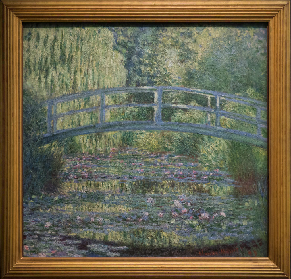 Monet - Le Bassin aux nympheas, harmonie verte (Water Lily Pond, Green Harmony)