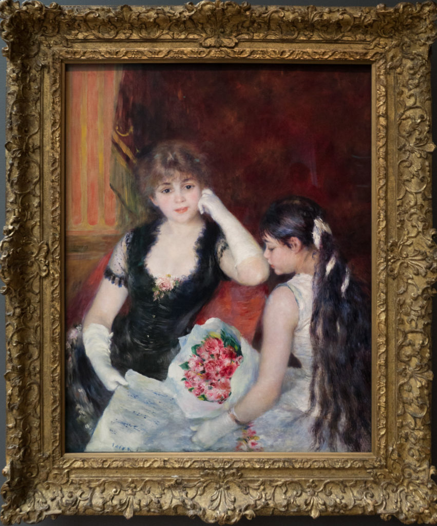 Renoir - Une loge au theatre/ Au Concert (A Box at the Theatre/At the Concert)