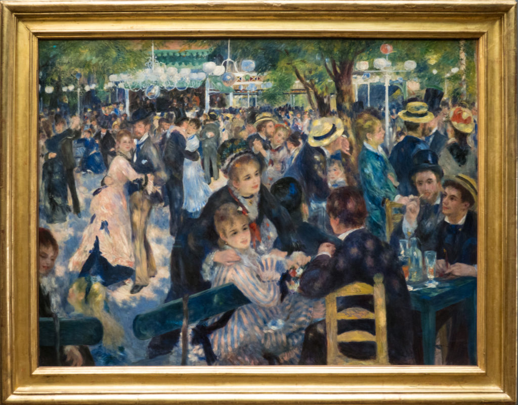 Renoir - Bal du moulin de la Galette (Dance at Le Moulin de la Galette)