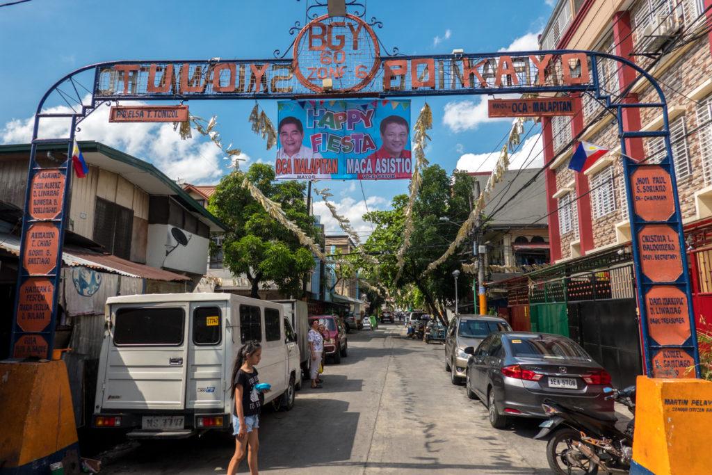 Barangay Entrance