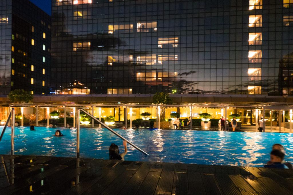 Pool at Nobu Hotel