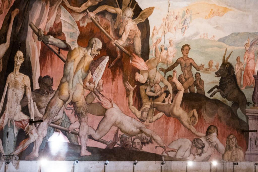 Interior of Duomo Dome