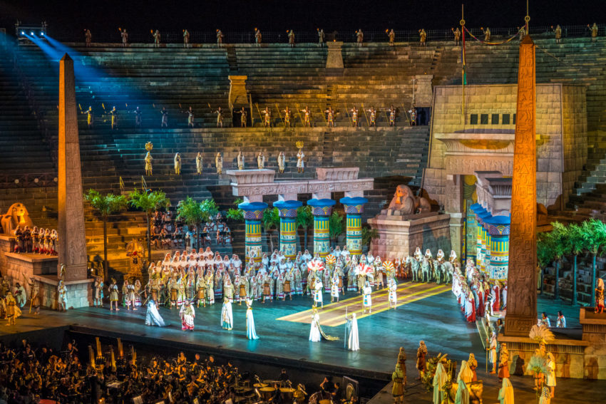 Aida at Arena di Verona