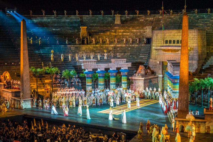 Aida at Arena di Verona