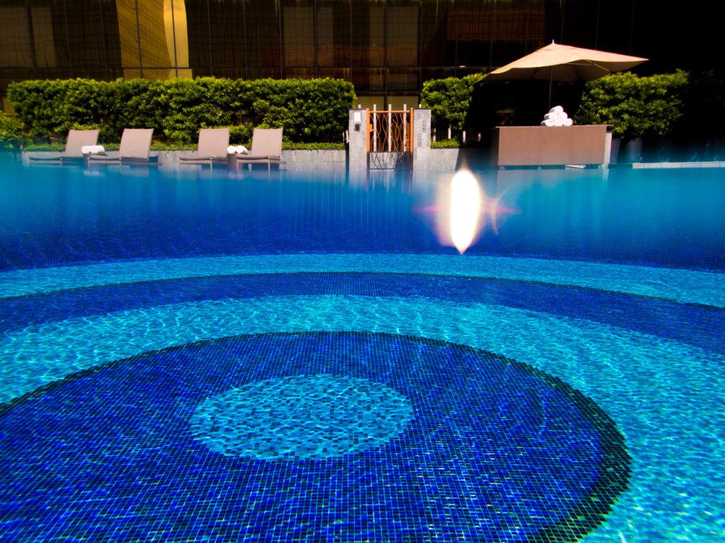 Pool at Nuwa Hotel, Manila
