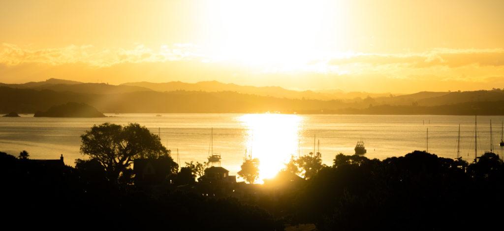 Sunset, Russell