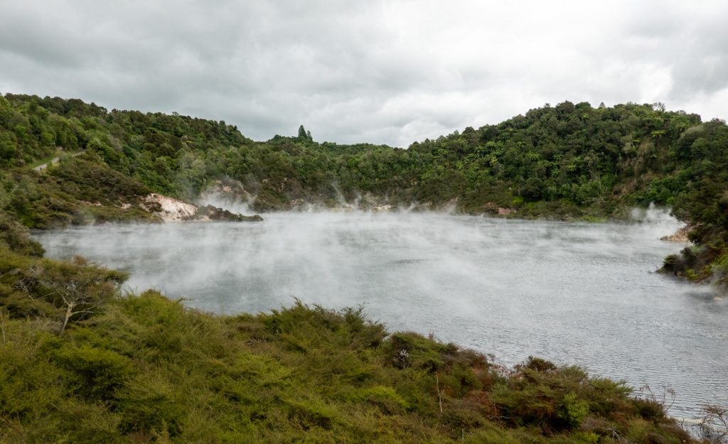 Frying Pan Lake, Waimangu Volcanic Valley